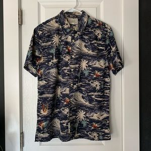 Lucky Brand Hawaiian shirt M